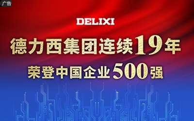 德力西集团连续19年荣登中国企业500强